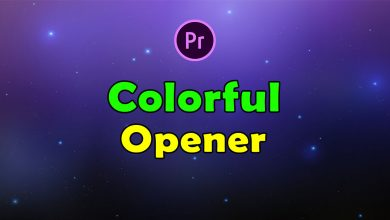 Photo of [Premiere Pro] Colorful Opener