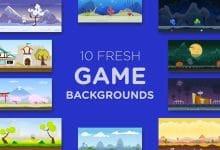 Photo of [Illustrator] 10 Fresh Game Backgrounds