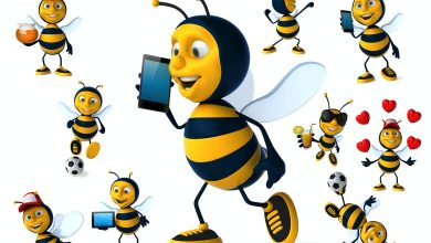 Photo of [Photoshop] 10 Fun Bees illustrations