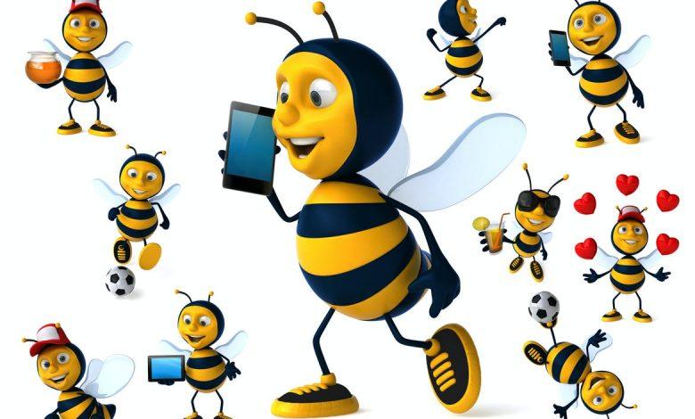 10 fun bees !