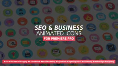 Photo of [Premiere Pro] 100 SEO and Business Modern Flat Animated Icons