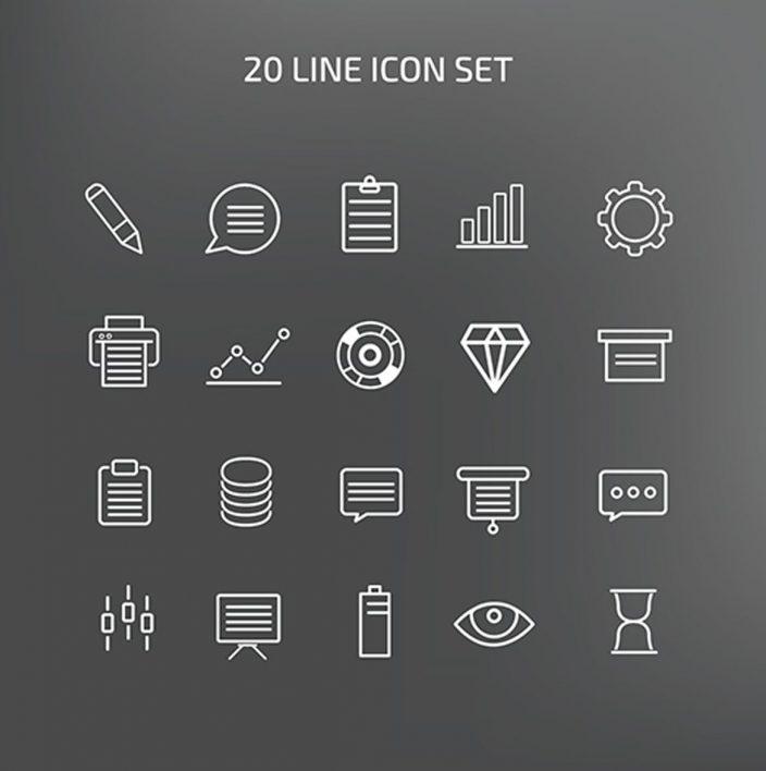 20 Icon Set