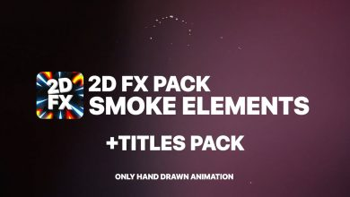 Photo of [Premiere Pro] 2DFX Smoke Elements And Titles