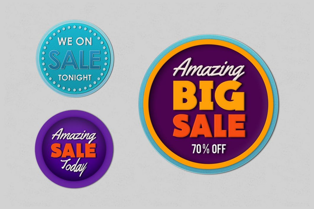 3 Simple Badges promotional