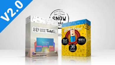 Photo of [After Effects] 3D Pop-Up Book Explainer Toolkit and Story Pack