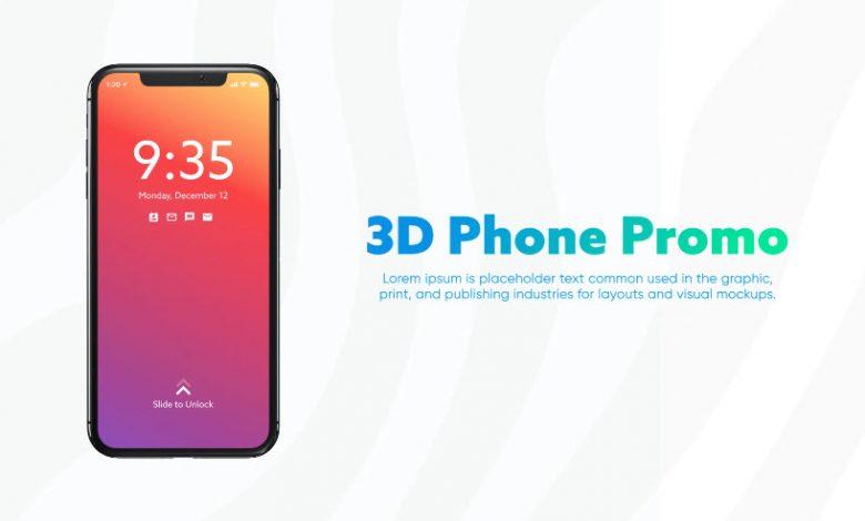 3D Smartphone Presentation