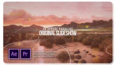 Photo of 3D Sphere Original Parallax Slideshow