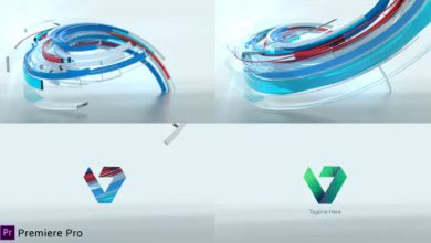 Photo of [Premiere Pro] 3D Ribbon Logo Reveal