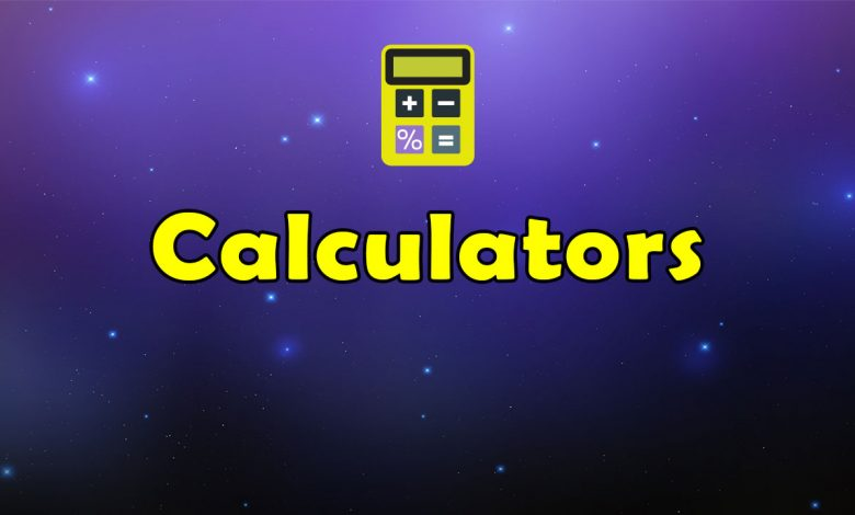 Awesome Calculators - Massive Collection of Resources