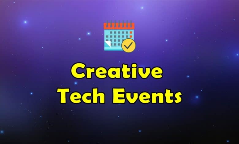 Awesome Creative Tech Events - Massive Collection of Resources