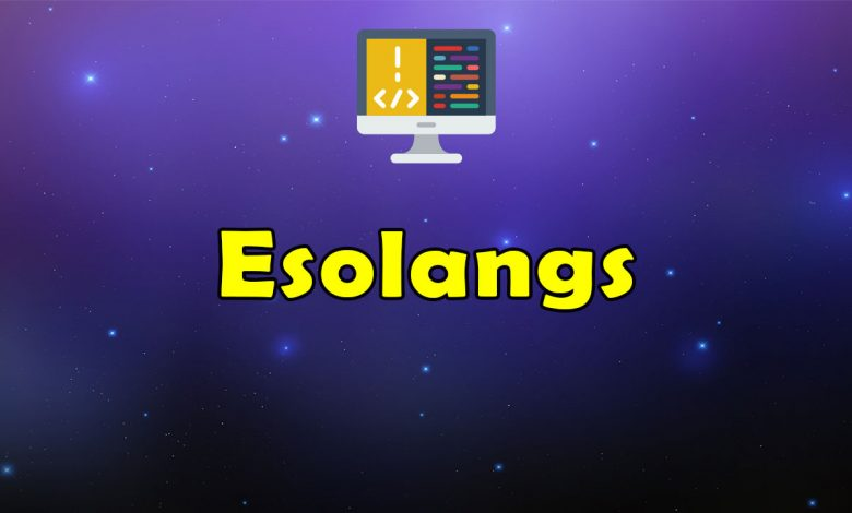 Awesome Esolangs - Massive Collection of Resources