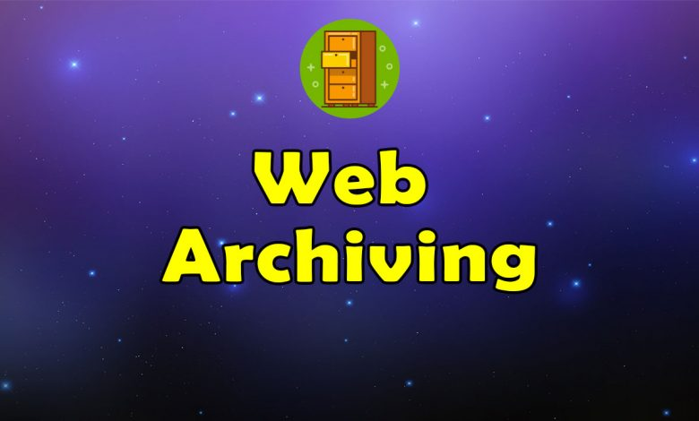 Awesome Web Archiving - Massive Collection of Resources