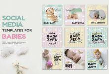 Photo of [Illustrator] Baby Media Banners