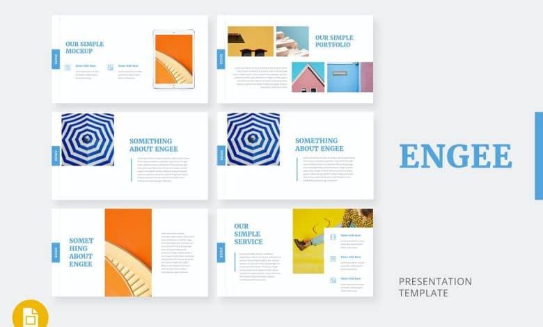 Engee - Google Slides Template Main