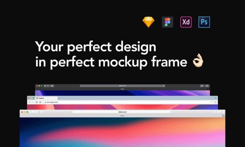Frames Windows Mockup