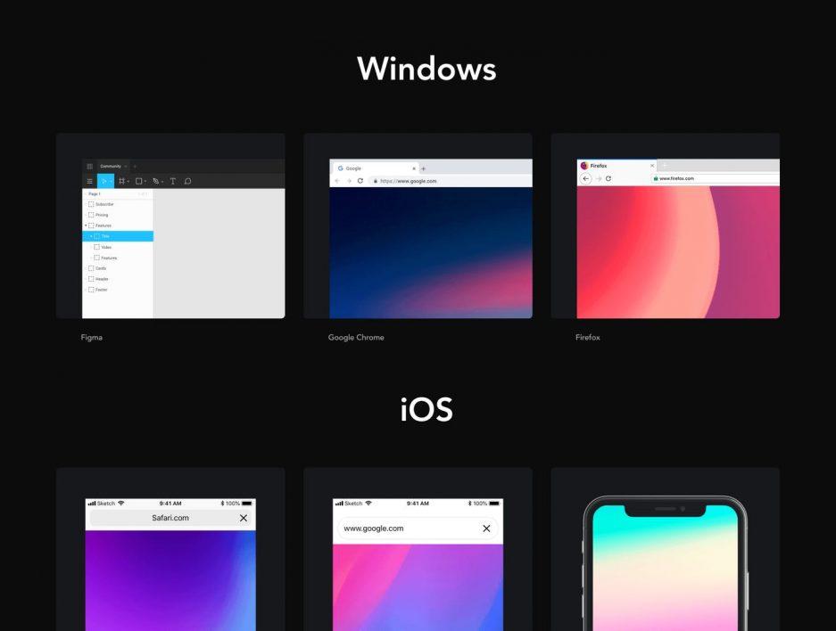 Frames Windows Mockup v3