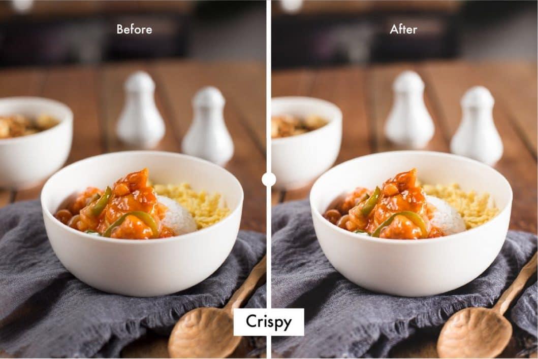 Pro Food Lightroom Preset Crispy