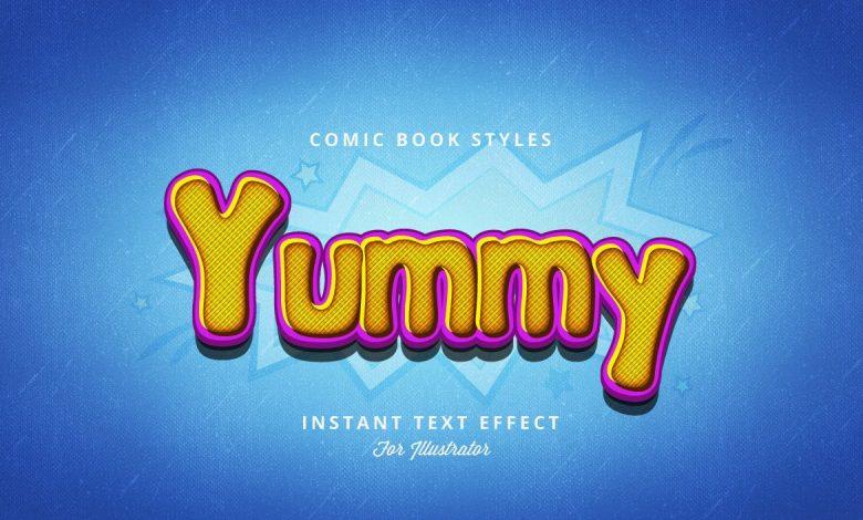 Comic Book Styles for Illustrator V2