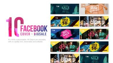 Photo of [Photoshop] 10 Facebook Cover Big Sale