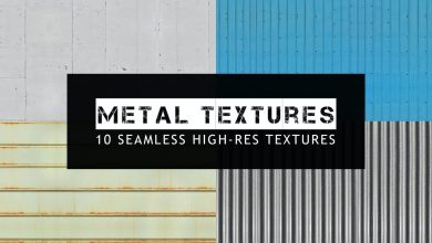 Photo of [Photoshop] 10 Seamless Metal Textures