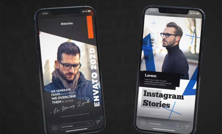 12 Instagram Stories Vol. 2 for After Effects