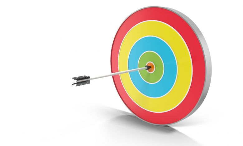 3D Archery Target for Photoshop