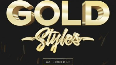 Photo of [Photoshop] 3D Gold Text Effects – 10 PSD