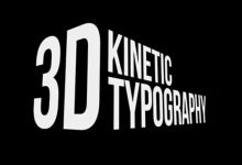 Photo of [After Effects] 3D Kinetic Typography Titles