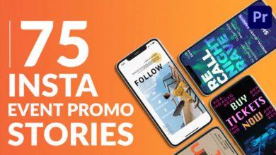 Photo of [Premiere Pro] 30 Instagram Event Promo Stories