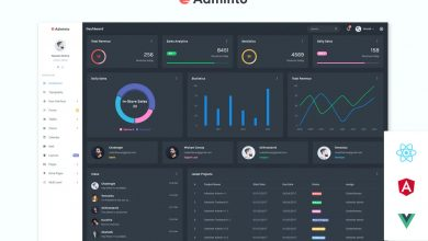 Photo of Adminto Admin Dashboard HTML and CSS Template