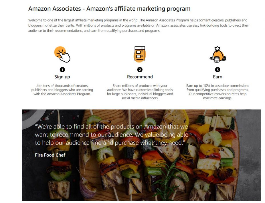 Amazon Affiliate Website
