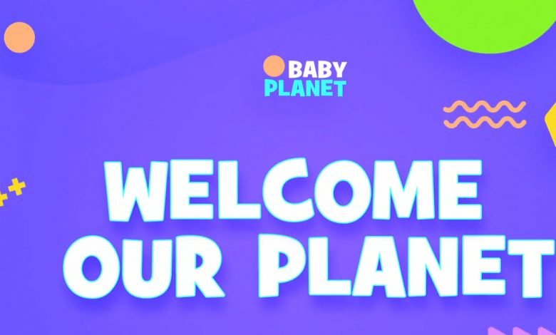 Baby Planet Promo Slideshow for After Effects