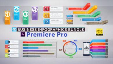 Photo of [Premiere Pro] Business Infographics Bundle
