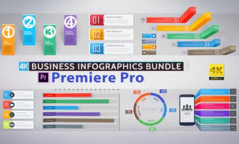 Business Infographics Bundle for Premiere Pro