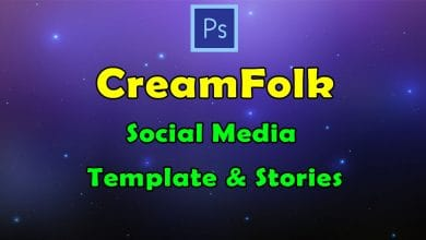 Photo of [Photoshop] Creamfolk Social Media Template and Stories