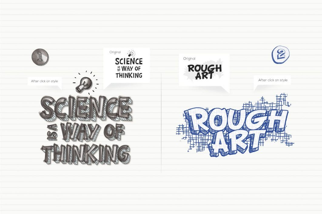 Doodles Text Effect example 1