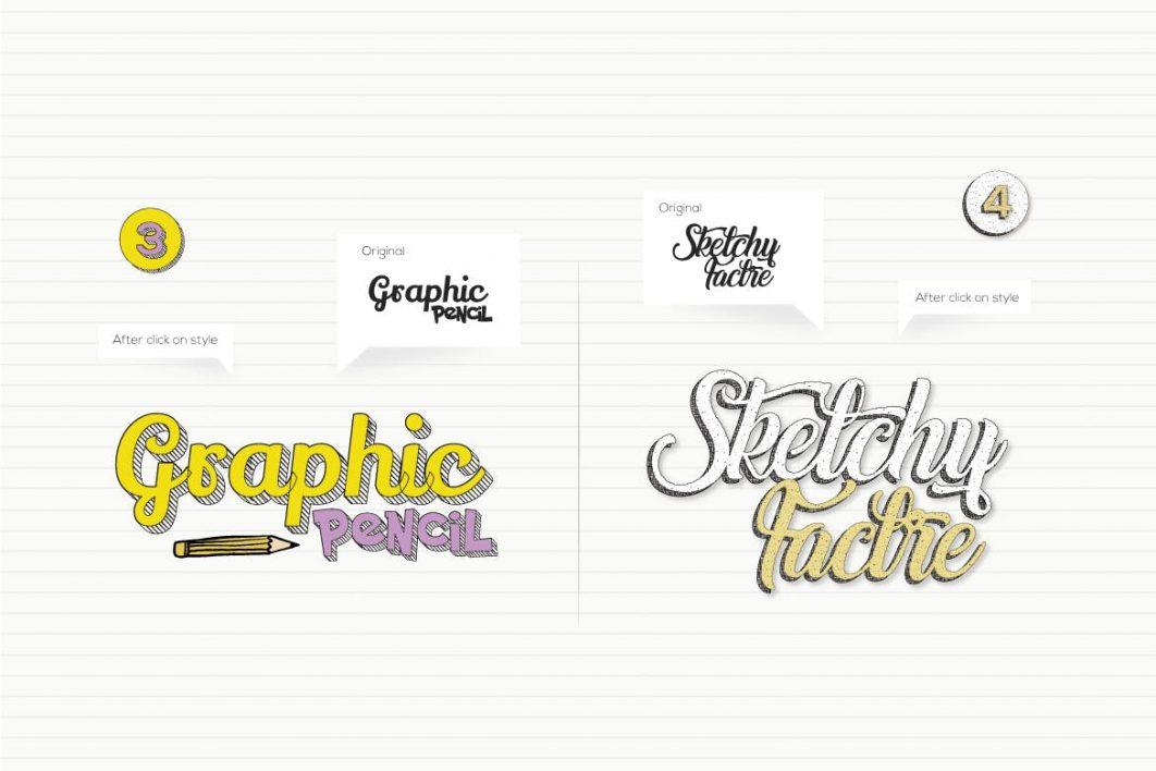 Doodles Text Effect example 2