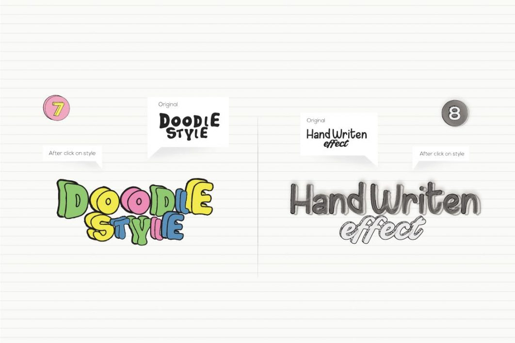 Doodles Text Effect example 4