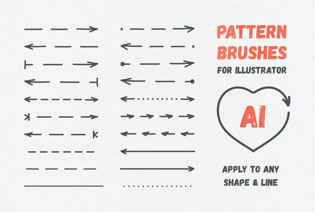 Pattern brushes for illustration