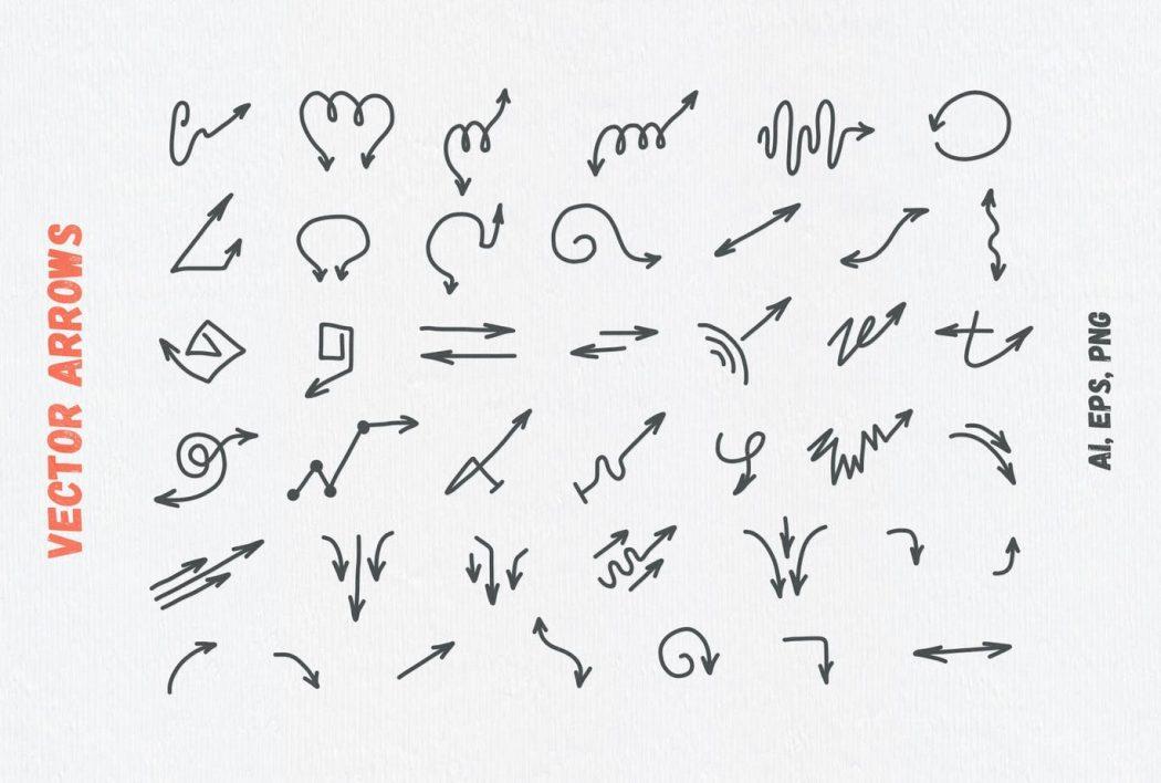 Vector arrows 3
