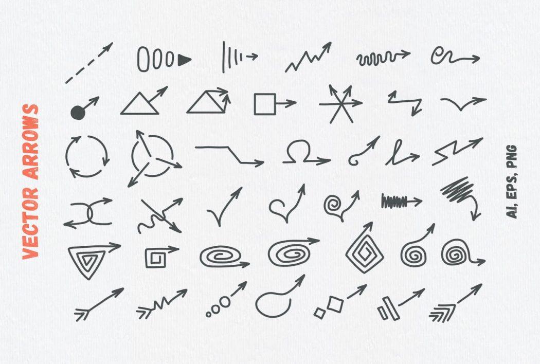 Vector arrows 4
