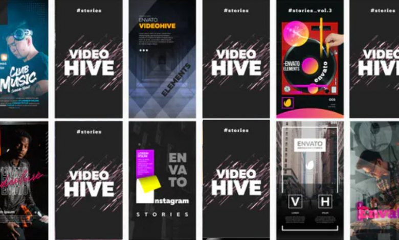 12 Instagram Stories Vol. 3 for After Effects