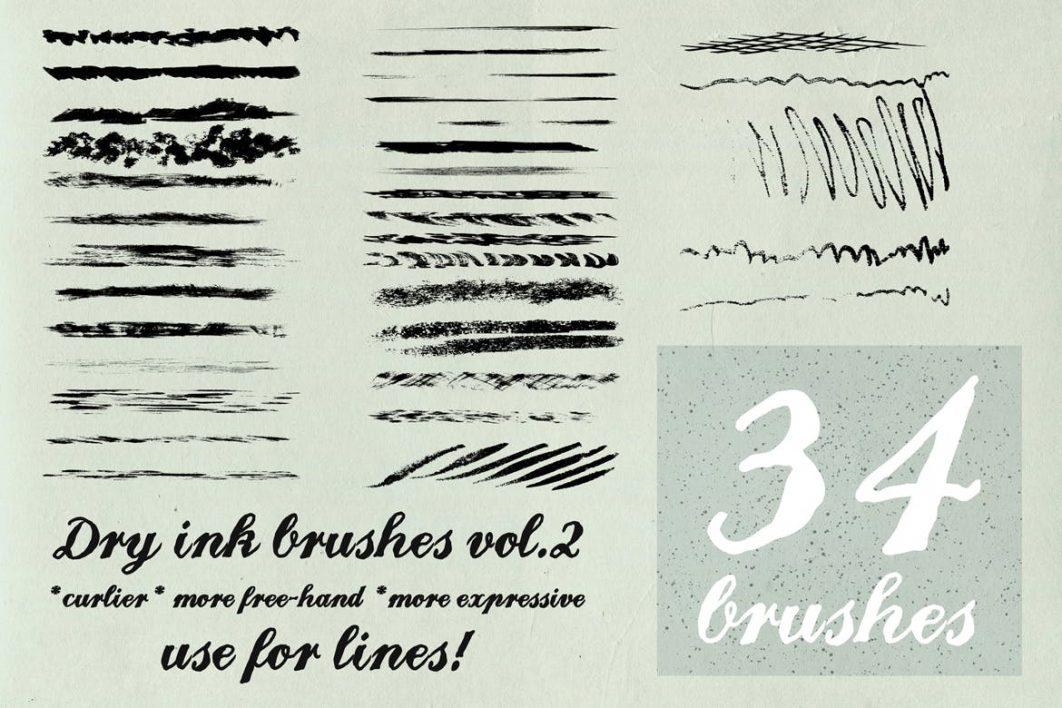 34 brushes