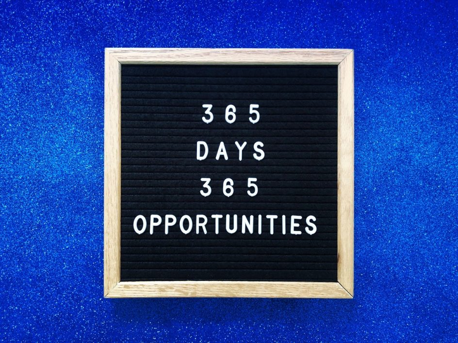 365 days 365 opportunities
