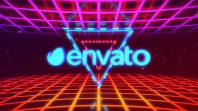Photo of [After Effects] 3D Elegant Retro Logo