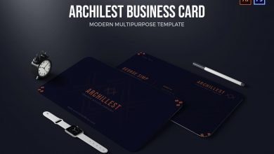 Photo of Business Card Template v2 for Photoshop and Illustrator