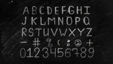 Photo of [After Effects] Chalk Alphabet