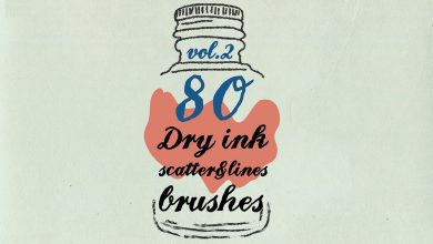 Photo of [Illustrator] Dry Ink Brushes v.2