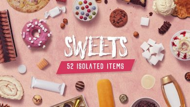 Photo of Kitchen Scene Generator Sweets for Photoshop and Illustrator