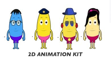 Photo of [After Effects] 2D Animation Kit